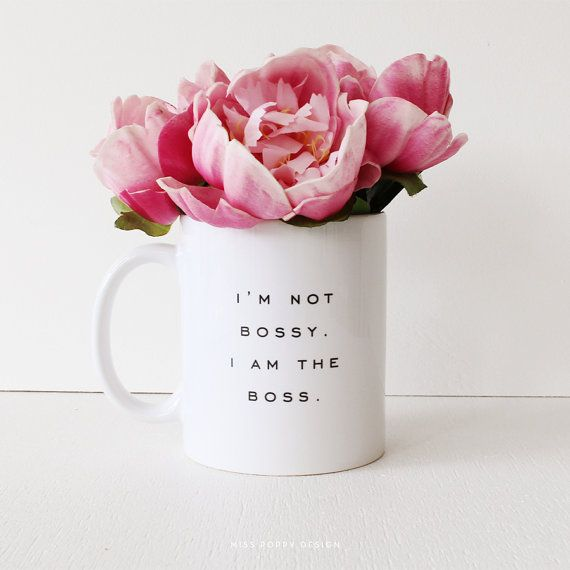 bossy mug